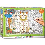 EuroGraphics Magic Cat Color Me Puzzle (500 Piece)