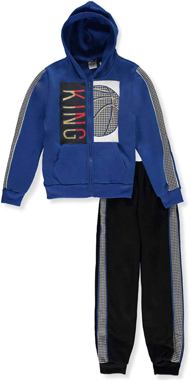 S1ope Boys King 2-Piece Sweatsuit Outfit