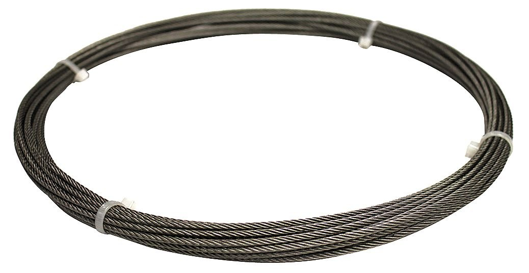 Cable, 3/8 In., 100 ft., 2400 Lb Capacity