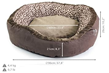 La Korso Pik Animal Guarida Talla XL, 1 modelo, Pet cama para perros y gatos, Perfect colchón, guarida, cubierta y den: Amazon.es: Productos para mascotas