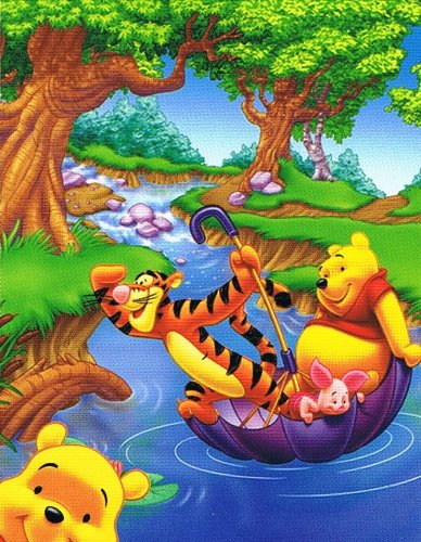 Winnie the Pooh and Tigger Beach Towel Blanket