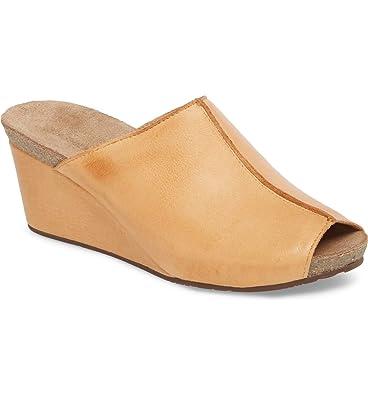 173328e3f9caa Amazon.com | Chocolat Blu Elden Wedge Mule - Leather Womens Sandals ...