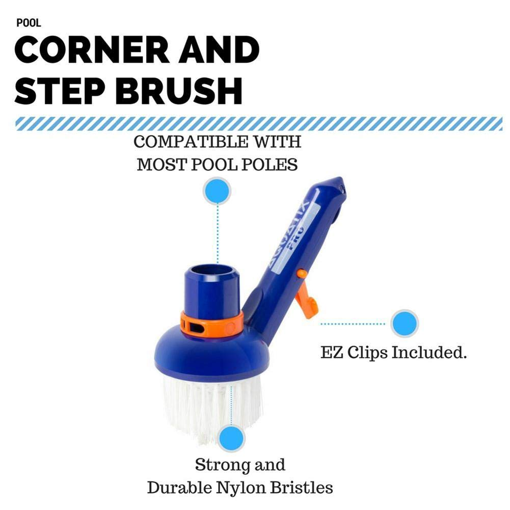 Beatie* Cepillo De Limpieza De Piscina PC Cleaner Ligero Durable para Piscinas Spas Tinas De Ba/ño Swimming Pool Cleaning Brush