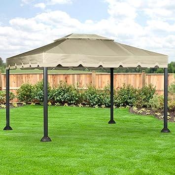 10 X 12 Garden House Gazebo Replacement Canopy - RipLock 350 & Amazon.com : 10 X 12 Garden House Gazebo Replacement Canopy ...