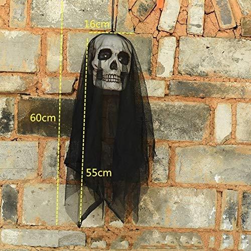 Electric Hlloween Decortion Control Bright Creepy Hlloween Horror Hlloween Hnging - Black by Halloween Dekor