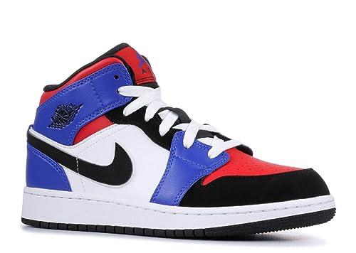 Da Air Jordan Nike Shoe Bambino Basket 1 Boys  Mid gs Scarpe Txx5wH8E 2f599ae15d3