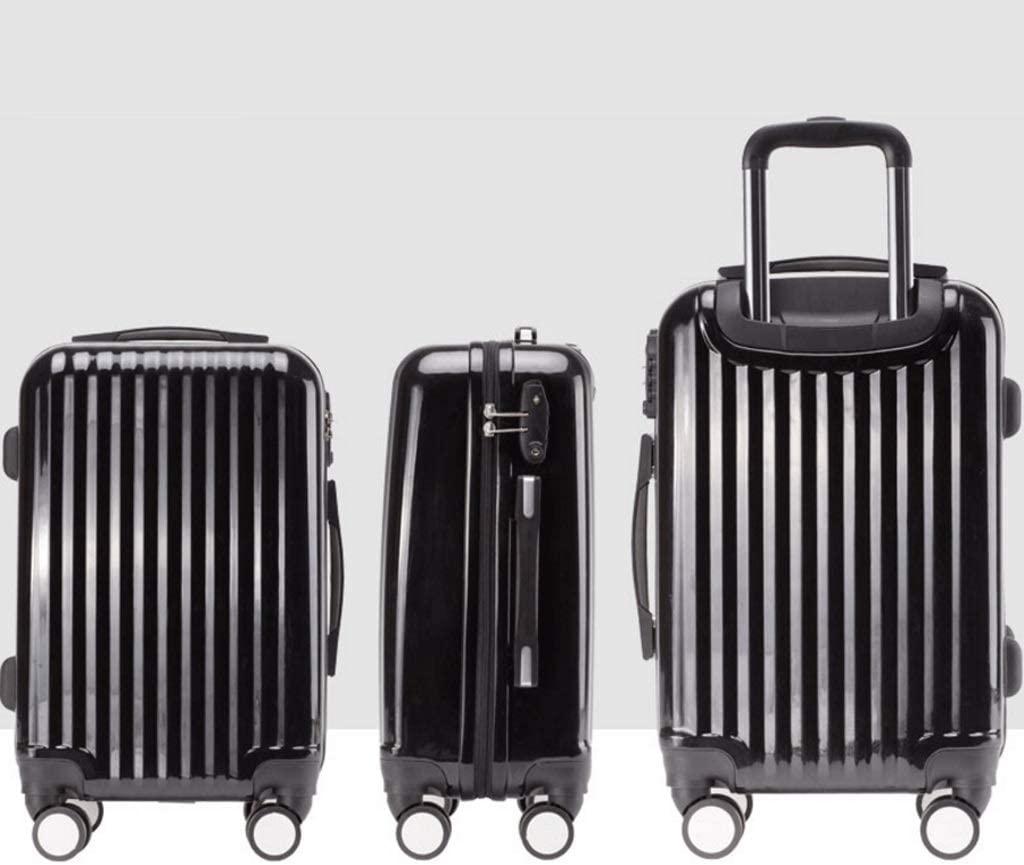 HUANGDA Fashion Travel Lock Box 26 Boarding Travel Lock Box Color : White, Size : 24 inches Anti-Collision Trolley Case
