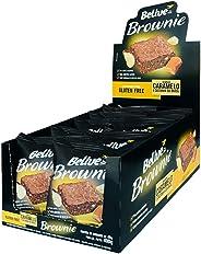 Brownie de Caramelo com Castanha-Do-Brasil Sem glúten Sem lactose Belive Display com 10 unidades de 40g