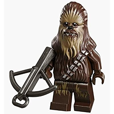 New Version Lego Chewbacca Star Wars Minifig Chewie Minifigure Figure 75094: Toys & Games