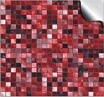 24 Stück Fliesenaufkleber Für Küche Und Bad (Tile Style Decals  24xTP3 4u0026quot;