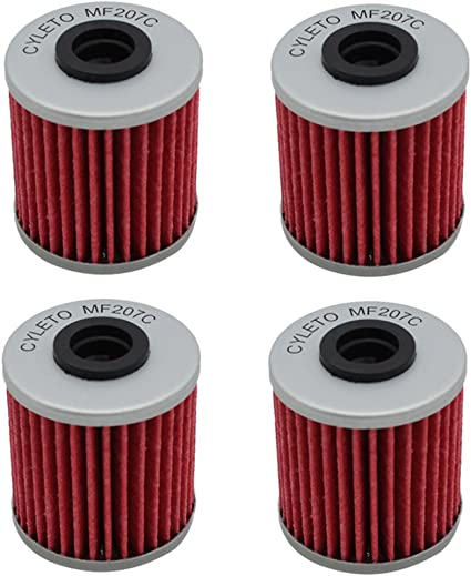 Road Passion High Performance Oil Filter for SUZUKI RMZ250 249 2004-2015//RMX450Z 2010-2012//RMZ450 449 2005-2015 pack of 4