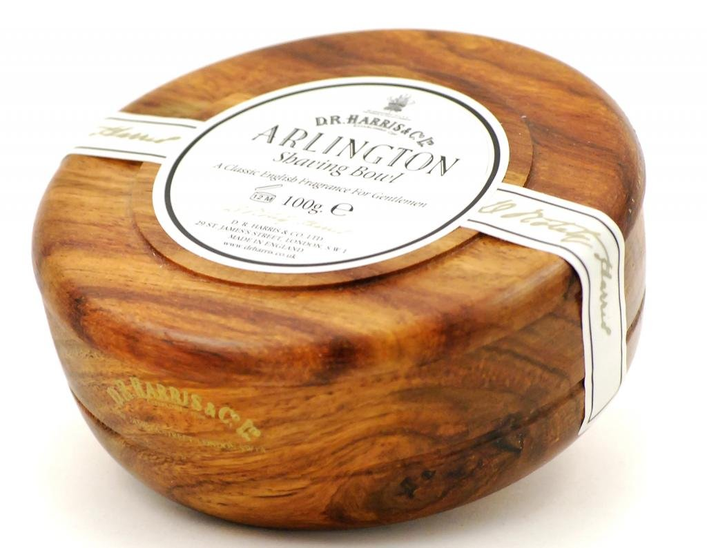 D.R.Harris & Co Arlington Mahogany Shaving Bowl & Shaving Soap 34