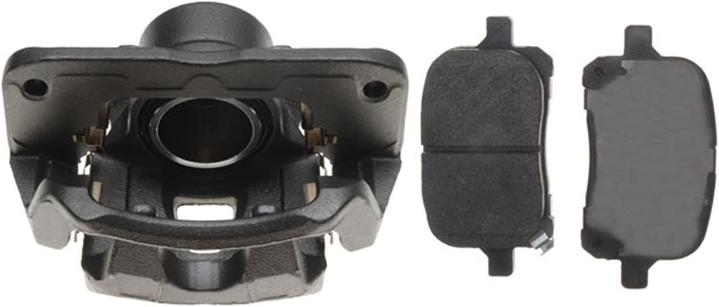 Loaded ACDelco 18R663 Professional Front Passenger Side Disc Brake Caliper Assembly with Pads Remanufactured