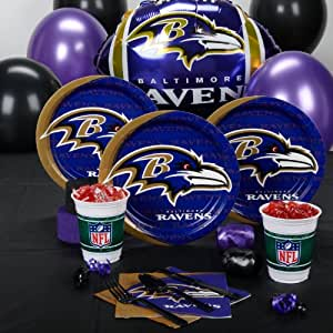 Baltimore Ravens Standard Party Pack for 8