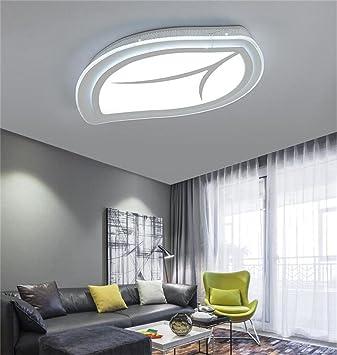 Deko Deckenleuchten LED Deckenleuchte Modernen Minimalistischen Wohnzimmer  Deckenlampe Schlafzimmer Kreative Persönlichkeit Förmige Blätter Decke
