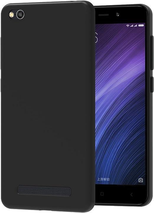 ivoler Funda Carcasa Gel Negro para Xiaomi Redmi 4A, Ultra Fina 0 ...