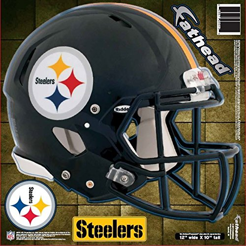 FATHEAD NFL Pittsburgh Steelers Helmet Decal -