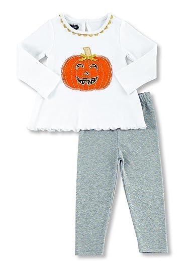7f1a41392cb Amazon.com  Mud Pie Womens Pumpkin Tunic   Leggings Set (Infant)  Clothing
