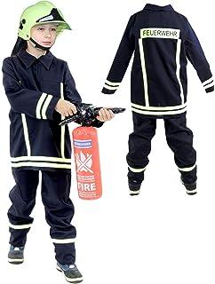 104der Jacke einheitliche der Hose der Gurt des Feuerwehr Fritz Fries /& Söhne GmbH /& Co-Anzug Feuerwehrmann azul-amarillo Gr