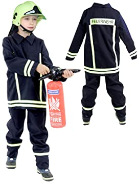 foxxeo 40026   Bomberos Disfraz Para Niños