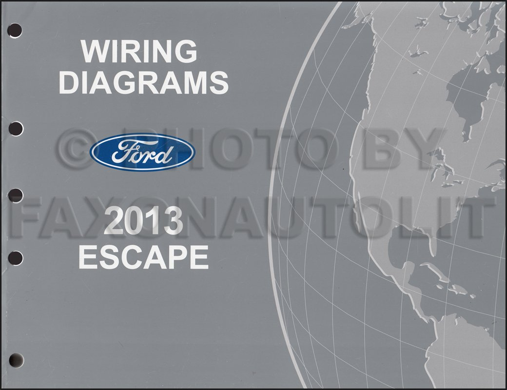 2013 Ford Escape Wiring Diagram Manual Original: Ford: Amazon.com: BooksAmazon.com