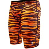 TYR SCR7Y Boys' Crypsis All Over Jammer, Navy/Orange - 24