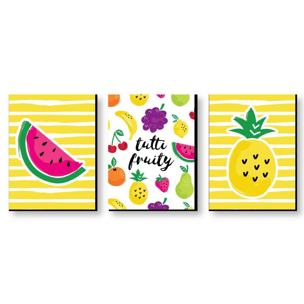Amazon.com: Tutti Fruity - Nursery Wall Art, Kids Room & Decor ...
