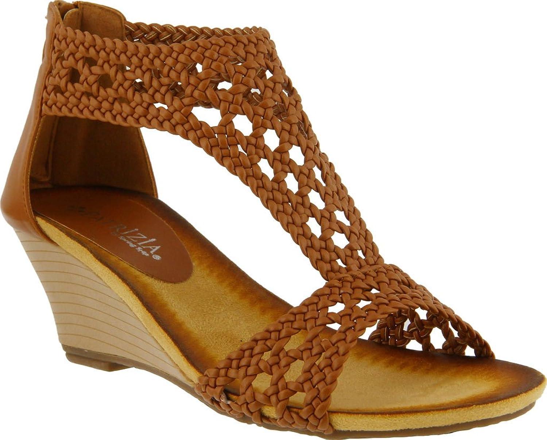Patrizia by Spring Step Larunda Women US 5.5- Camel Wedge Sandal B06XSK7FJM Parent
