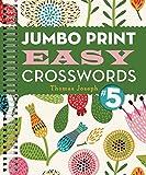 img - for Jumbo Print Easy Crosswords #5 (Large Print Crosswords) book / textbook / text book