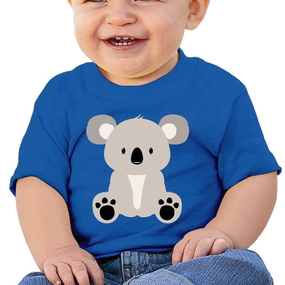 Cute Short Sleeves T-Shirt Cute Koala Bear 4 6-24 Months Baby Boy Infant