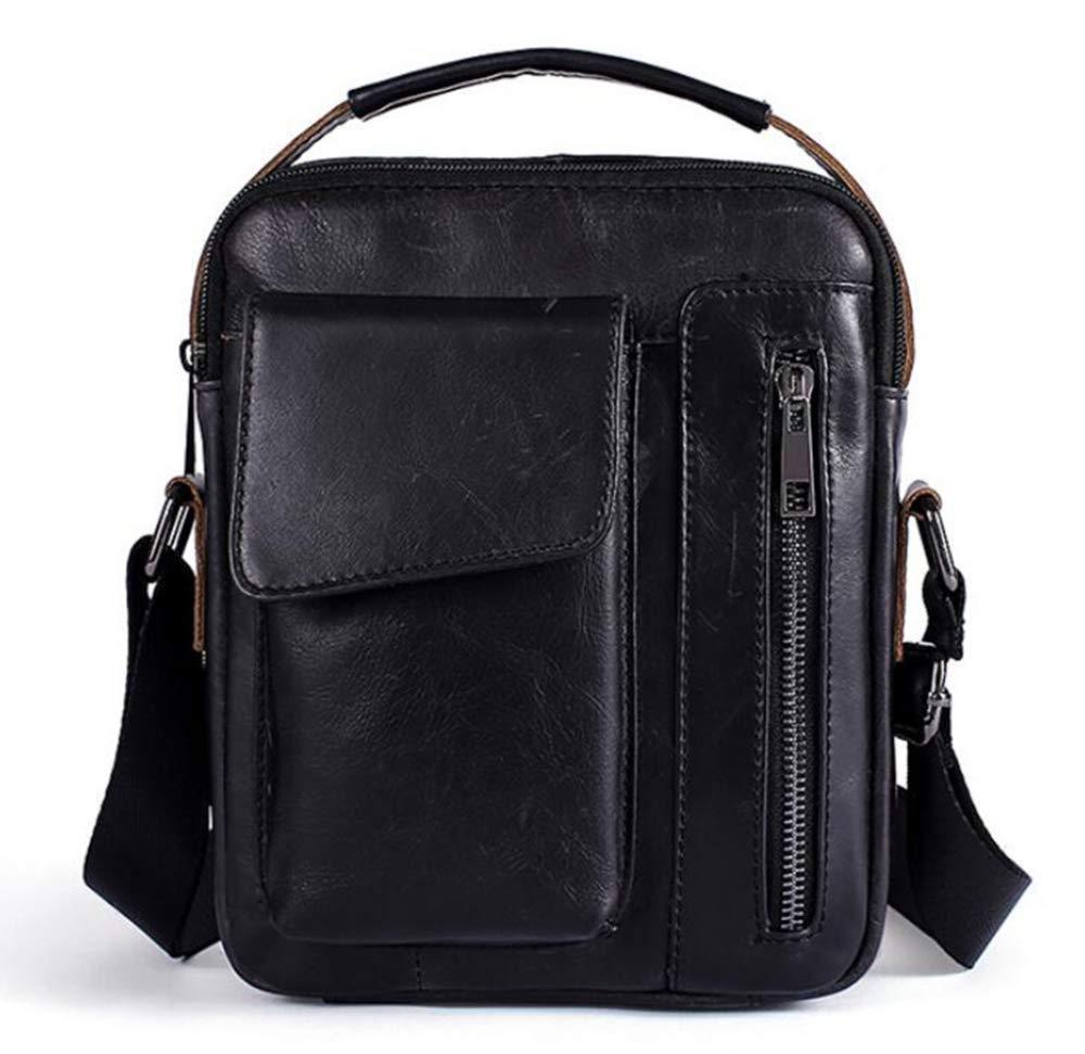 Sxuefang Mens Shoulder Bag Mens Messenger Bag Retro Casual Mens Shoulder Crossbody Bag 24x6x18cm