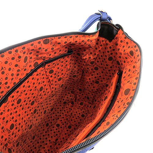 Bolsa de diseñador 'Mundi'turquesa.