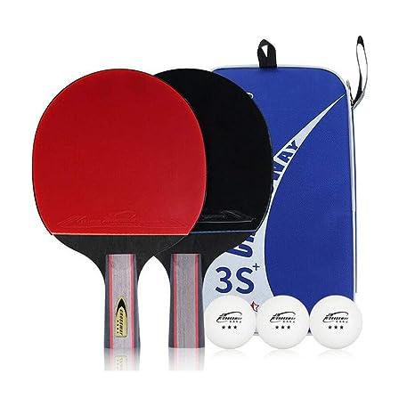 KUANDARPP Raqueta De Tenis De Mesa Ping Pong Altamente Flexible ...