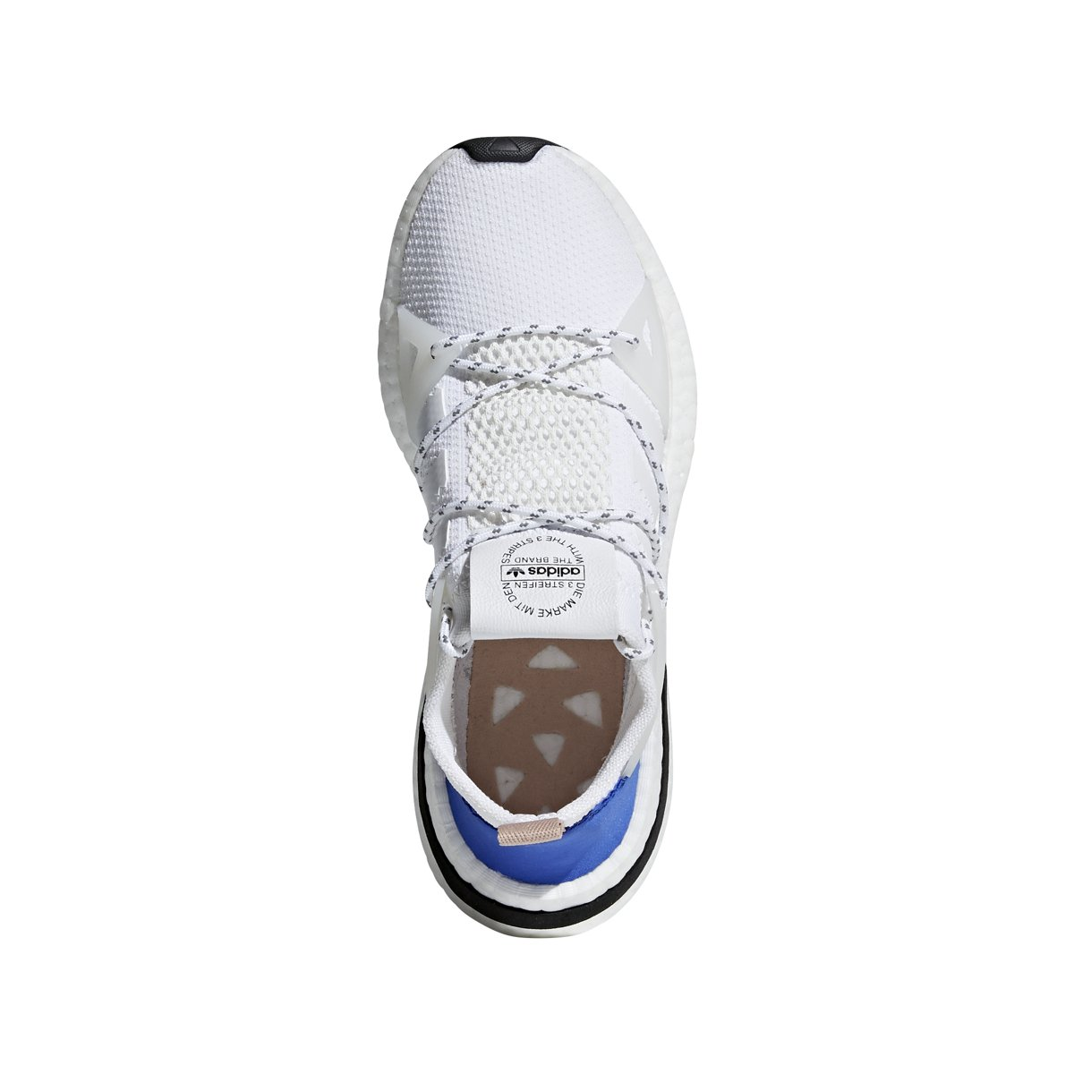 detailed look 94160 197d3 Amazon.com  adidas Originals Arkyn Runner - Womens WhiteAsh Pearl Nylon  Running Shoes  Road Running