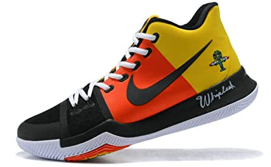 Kyrie 3 Rayguns Yellow Orange Black Ar4567 900 Zapatos de ...