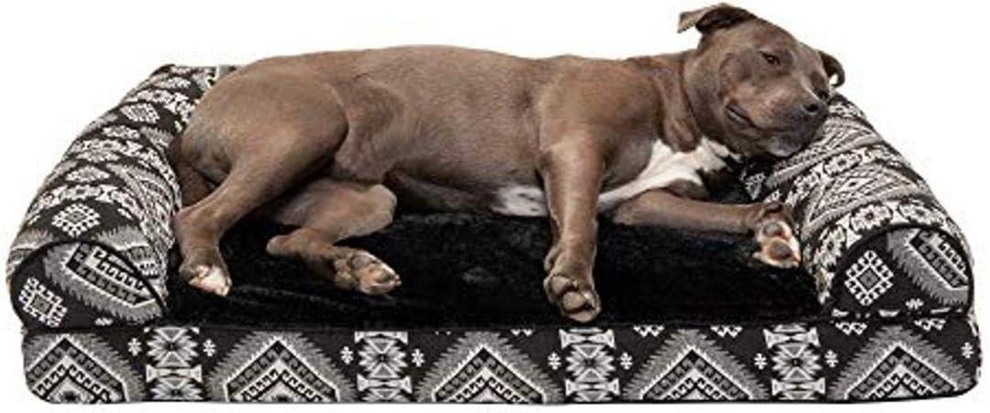 Southwest Bohemian Kilim Dog Bed