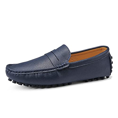 c2f6bfa1e362 Mens Shoes Big Size Soft Leather Mens Loafers 2019 Men Casual Shoes Slip On Footwear  Fashion