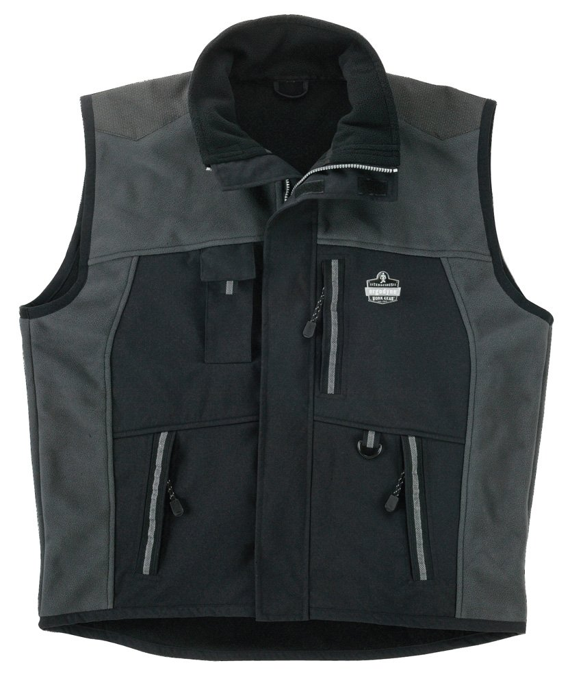 Ergodyne N-Ferno 6463 Men's Outer Layer Thermal Vest with Armortex Reinforcement in Heavy Wear Zones, XXX-Large