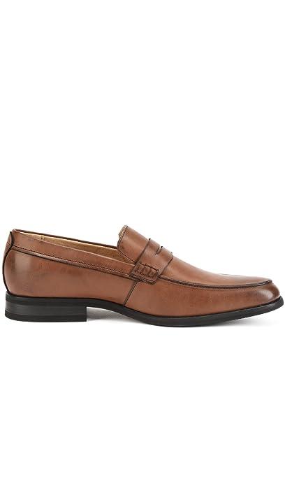 Reservoir Shoes Mocasines de Punta Cuadrada Ivan café Hombre Colección Primavera/Verano: Amazon.es: Zapatos y complementos
