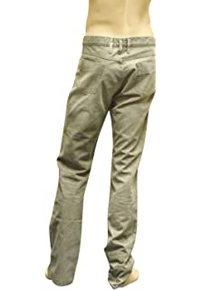 Gucci Men s Green Casual Skinny Jeans Pants 246604 2974 (G 56   US ... 7eae1b7865e