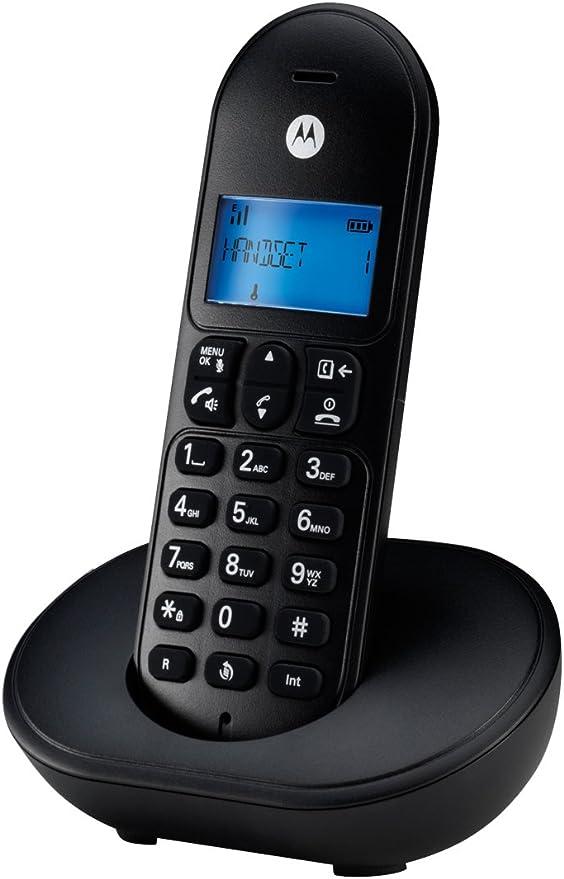 TELEFONO MOTOROLA T102 Negro: Amazon.es: Electrónica