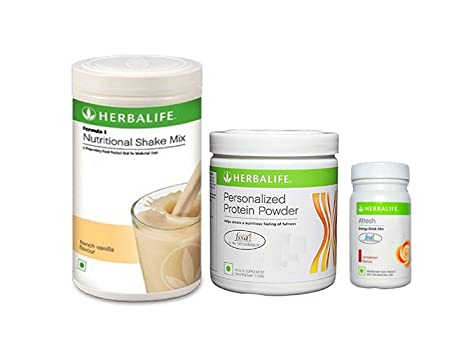 Healthy India Fit India Hifi Life Herbalife Weight Loss Package Formula 1 Vanilla With Personalized Protein Powder And Afresh Cinnamon 1 Kg