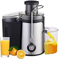 MaximHome Centrifugal Electric Juicer System for Fruits and Vegetable with Steel Body 400-Watt, 1.2 Liters