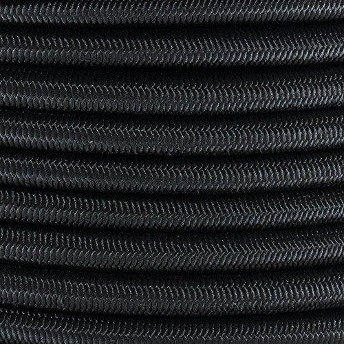 Elastic Bungee Nylon Shock Cord - Various Colors - Multiple Diameters and Lengths ()