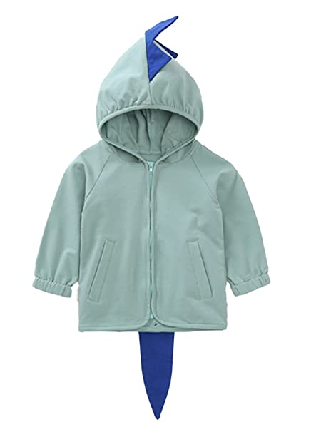 bf325b7ce400 Amazon.com  EGELEXY Baby Coat Warm Cute 3D Dinosaur Style Hooded ...