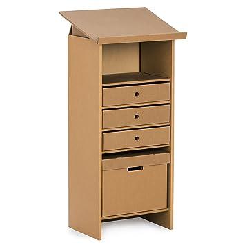 Stange Design Pappmobel Stehpult Mentor Luxus Aus Pappe Amazon De