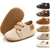 BiBeGoi Baby Boys Girls Oxford Shoes PU Leather Soft Rubber Sole Sneakers Anti-Slip Toddler Ankle Boots Infant Walking…