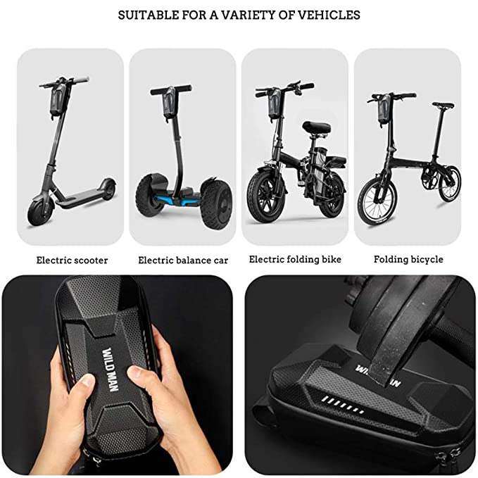 Amazon.com: WILD MAN EVA Hard Shell Waterproof Scooter ...