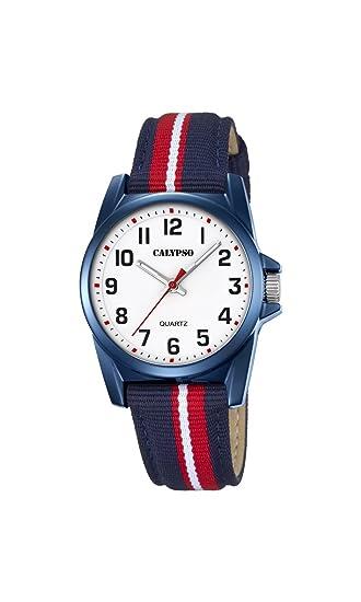 Calypso Reloj Análogo clásico para Unisex de Cuarzo con Correa en Nailon K5707/5: Calypso: Amazon.es: Relojes
