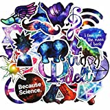 Arts & Crafts : 50 Pcs Galaxy Stickers Mixed Toy Cartoon Skateboard Luggage Vinyl Decals Laptop Phone Car Styling Bike JDM DIY Sticker